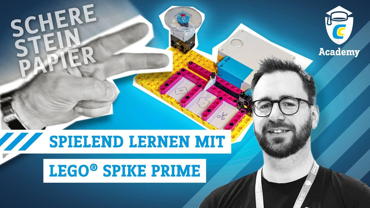 Spielend lernen mit LEGO SPIKE Prime