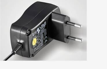 Adjustable wall power supply
