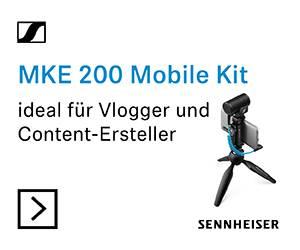 Sennheiser Mobile Kit Kamera-Mikrofon
