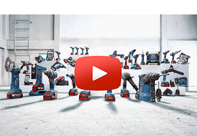 Bosch Professional bei YouTube