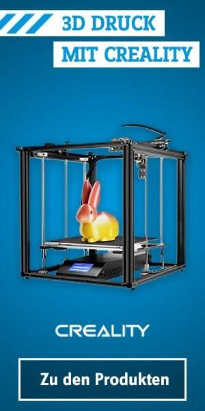 Creality 3D Druck