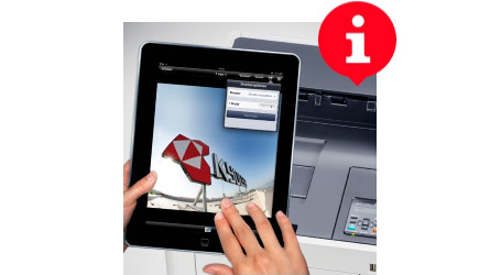 Tipp: Apps KYOCERA Mobile Print und KYOCERA MyPanel
