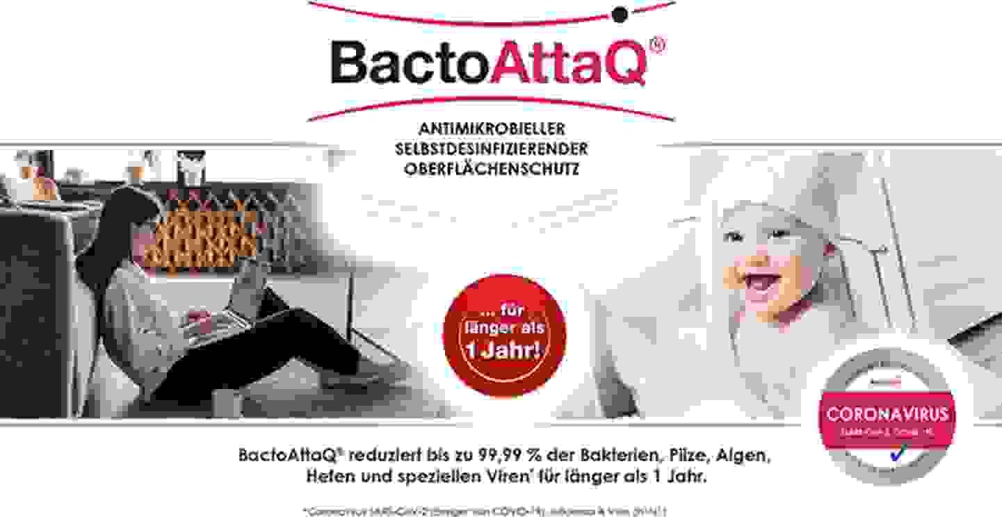 Oberflächenschutz von BactoAttaq