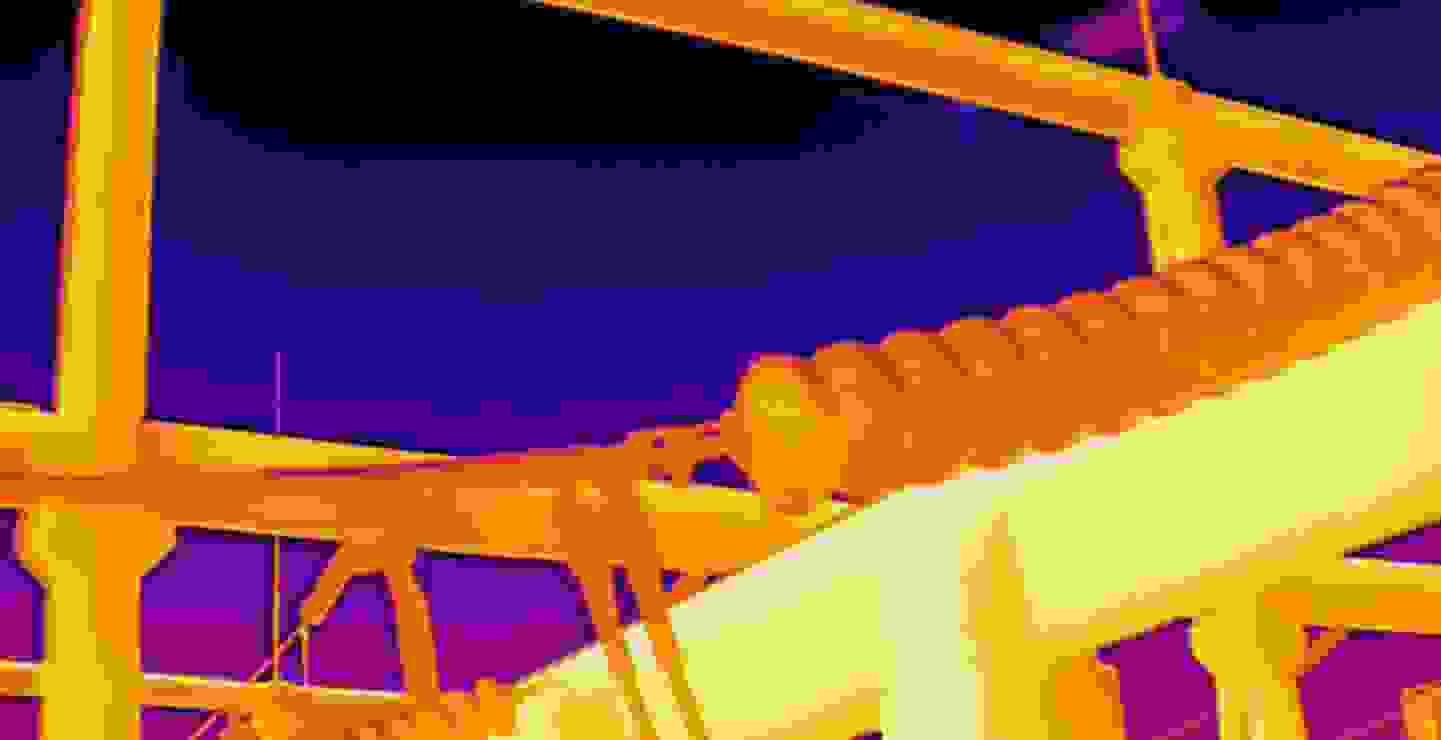 Hochauflösendes radiometrisches Wärmebild