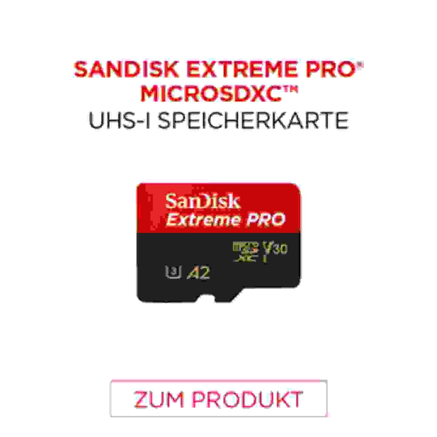 Sandisk Extreme Pro MICROSDXC UHS-I Speicherkarte