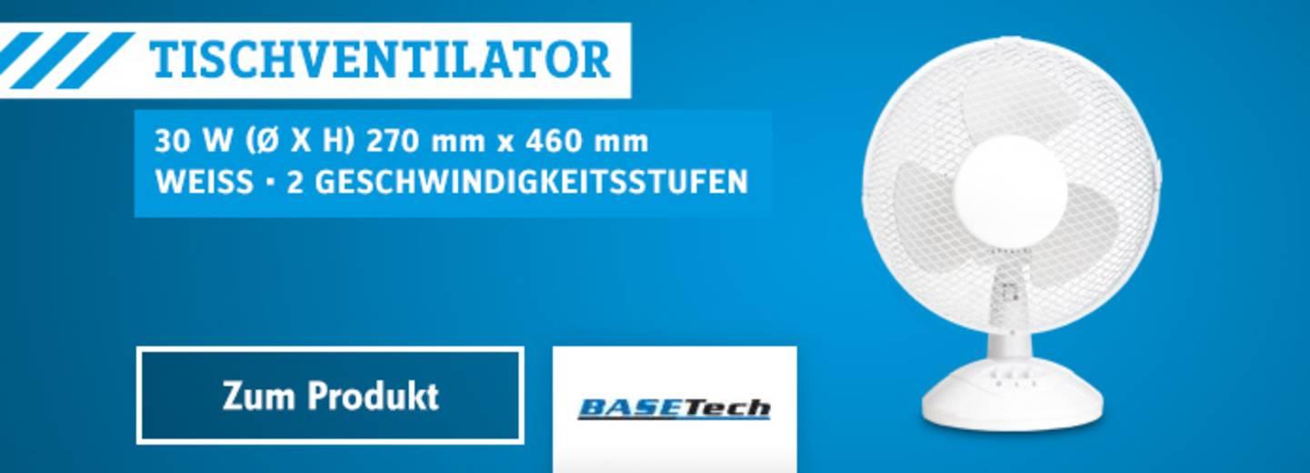 Ventilator Basetech