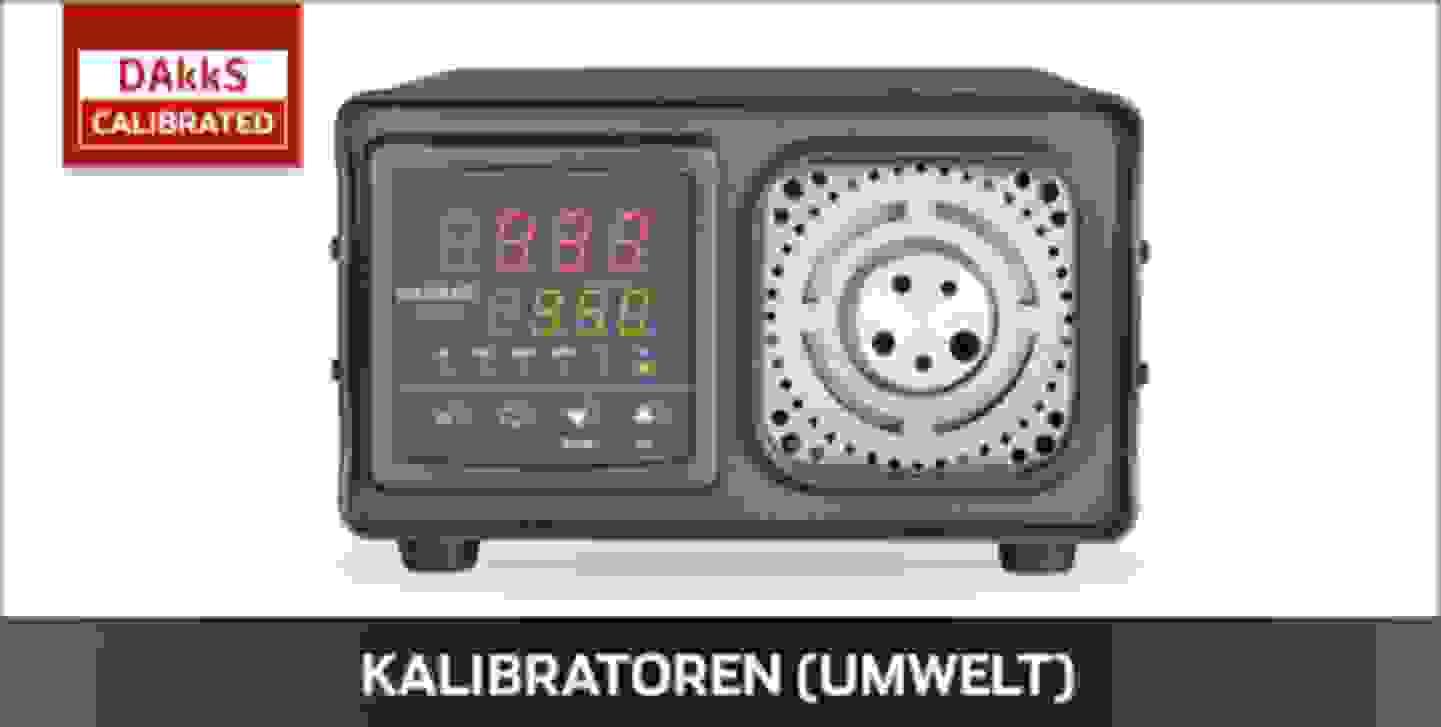 VOLTCRAFT Kalibratoren DAkkS kalibriert