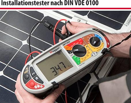 Installationstester nach DIN VDE 0100