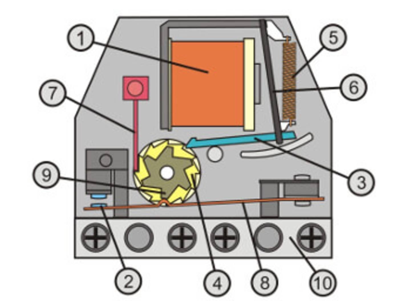 Aufbau Stromstoßschalter