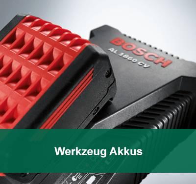 Bosch Werkzeug Akkus