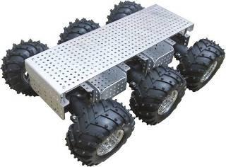 Arexx Gelände Roboterplattfom JSR-6WD Ausführung