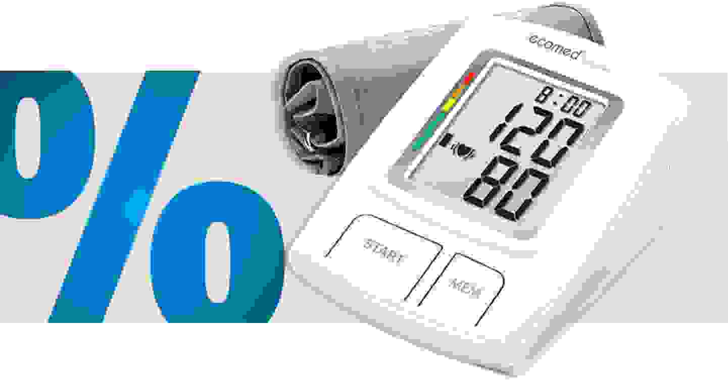Ecomed BU-92E Oberarm Blutdruckmessgerät 23205 BU-92E