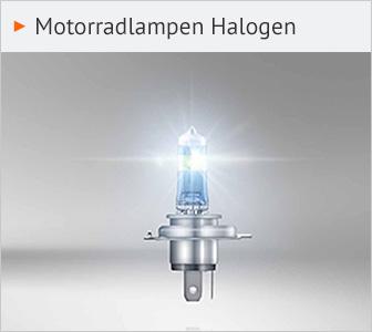 Motorradlampe Halogen