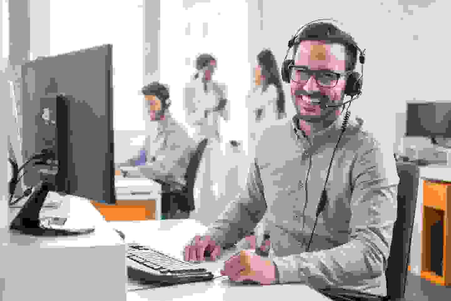 Personenzählung im Büro