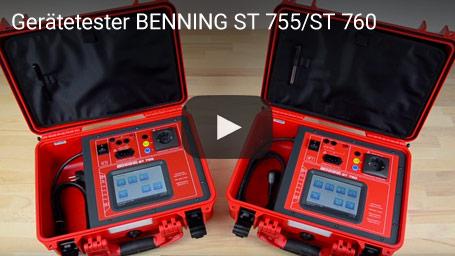 Gerätetester BENNING ST 755/ST 760