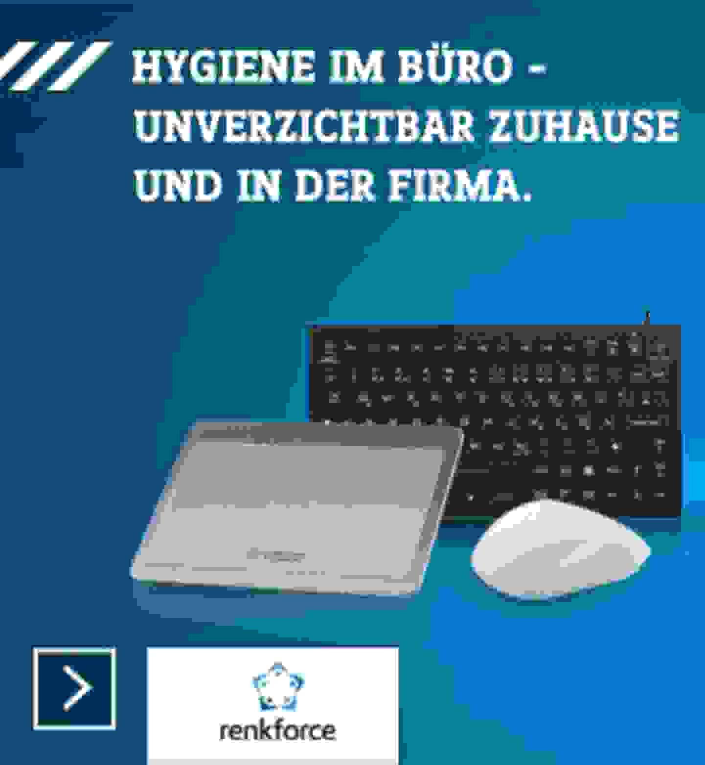 Hygiene im Büro