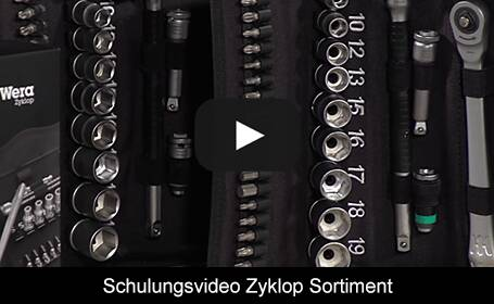 Schulungsvideo Zyklop Sortiment