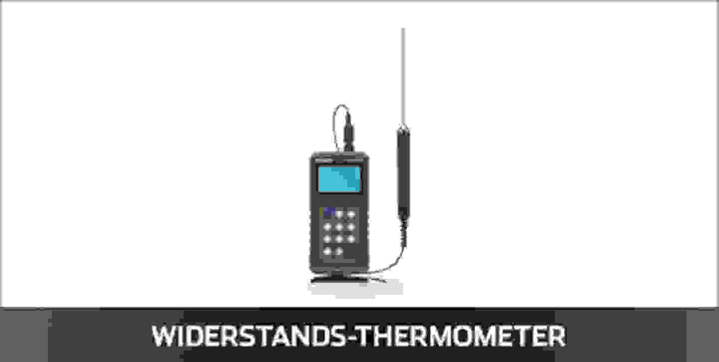 VOLTCRAFT Widerstands-Thermometer