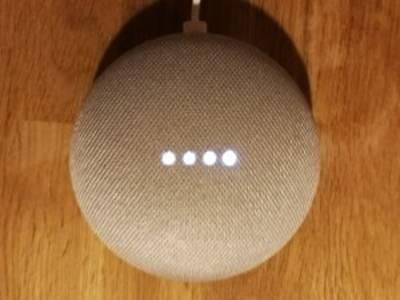 Google Home Mini ist Empfangsbereit