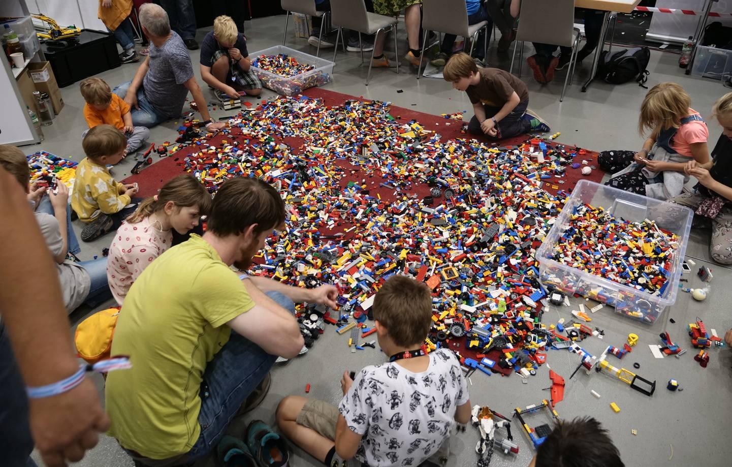 Maker Faire Hannover 2019 - Lego