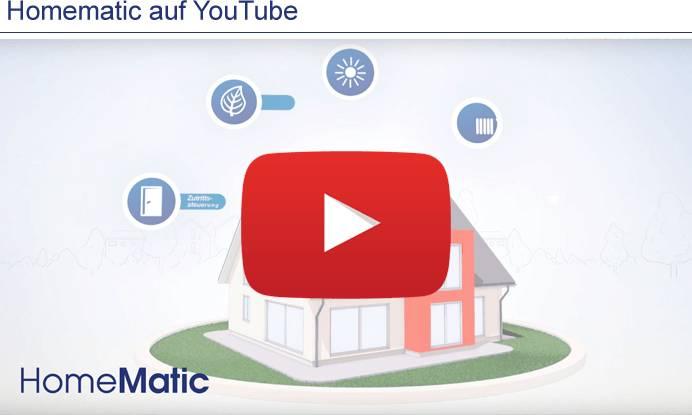 Homematic auf YouTube
