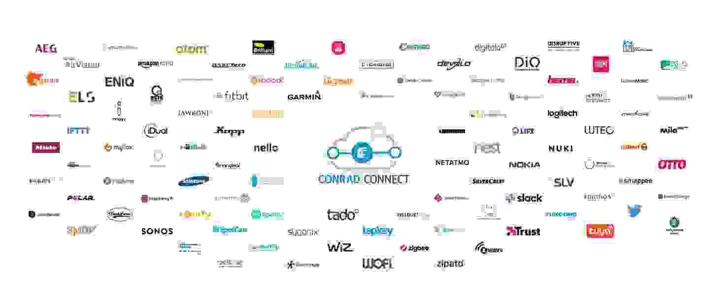 Lassen Sie Ihre Smarten Dinge für sich arbeiten. Vernetzen Sie über 3.000 Geräte, Apps und Services von 70+ Herstellern weltweit.