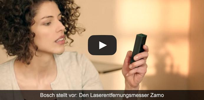 Bosch stellt vor: Den Laserentfernungsmesser Zamo