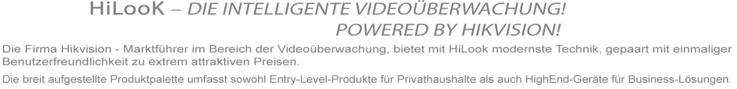 HiLook – Die intelligente Videoüberwachung
