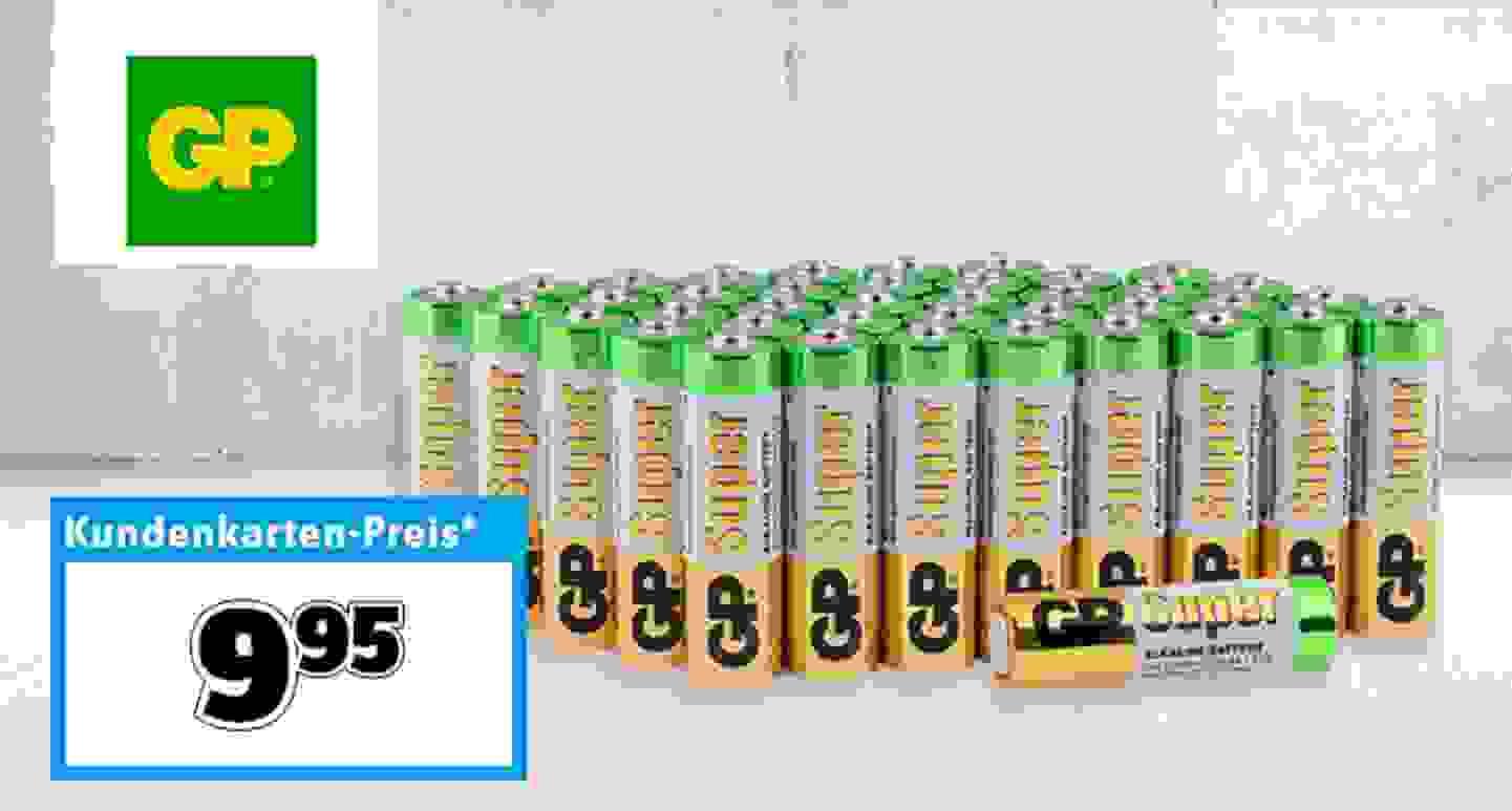 GP - Mignon (AA)-Batterien »