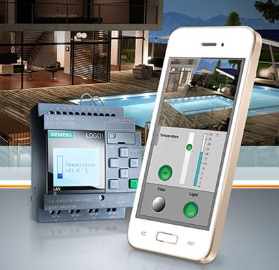 LOGO! Web-Editor - für die individuelle Steuerung per Mobilgerät