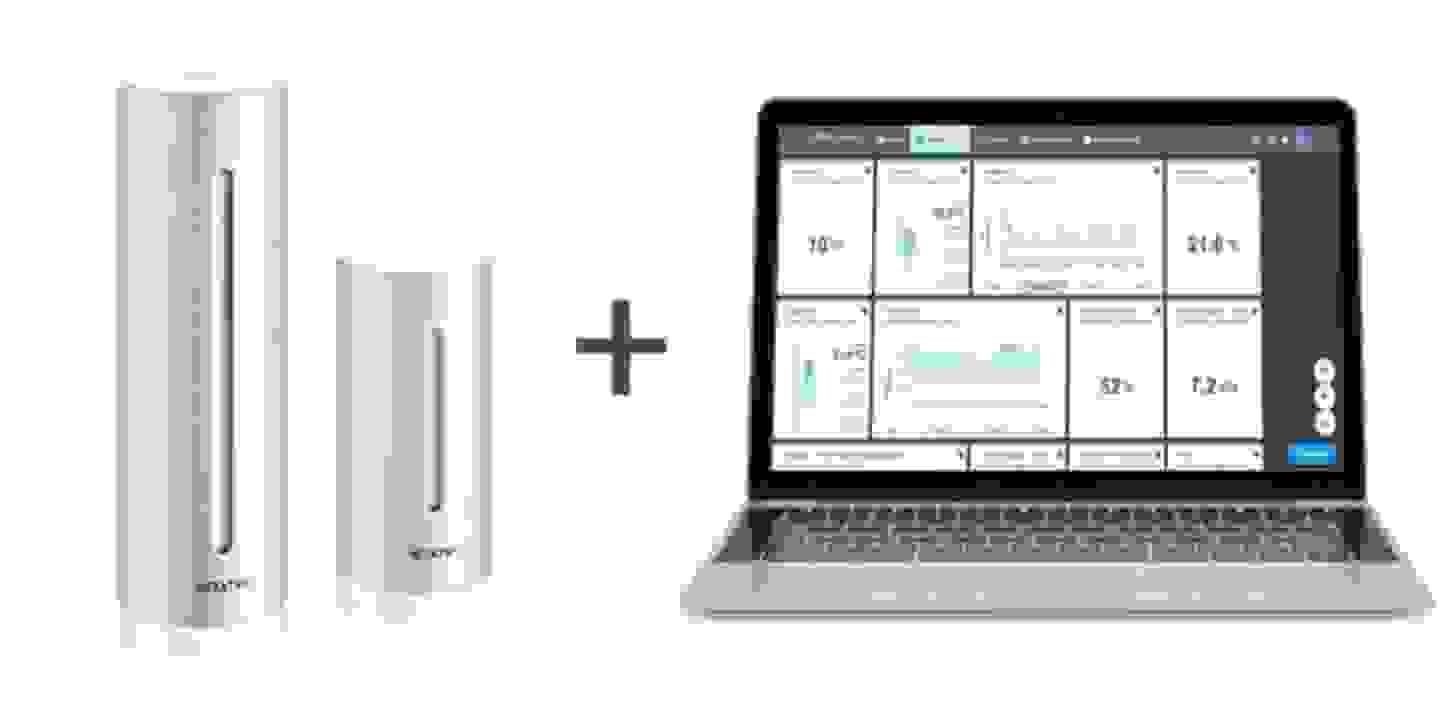 Die perfekte Kombination für die smarte Luftqualitätsüberwachung