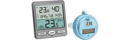 Bade-, Dusch- und Schwimmbecken-Thermometer