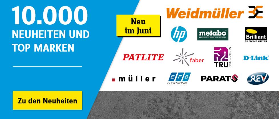 Assortment Expansion - Neue Technik und Brands »