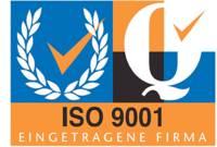 ISO 9001 Société certifiée