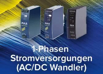 1-Phasen Stomversorgungen (AC/DC Wandler)