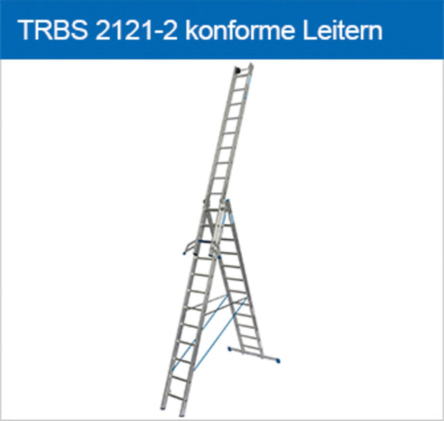 TRBS 2121-2 konforme Leitern