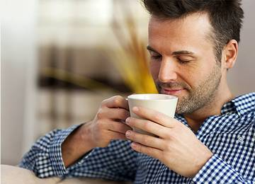 Njut av kaffe