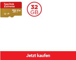 SanDisk Extreme® microSDHC™/ SDXC™ Speicherkarte (A1)