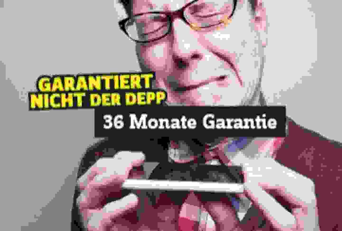 36 Monate Langzeit-Garantie