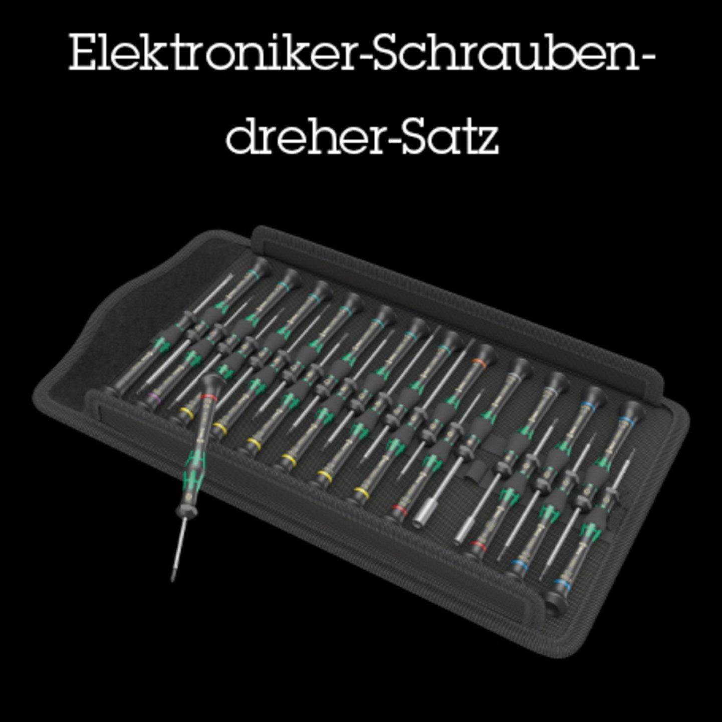 Elektroniker-Schraubendreher-Satz