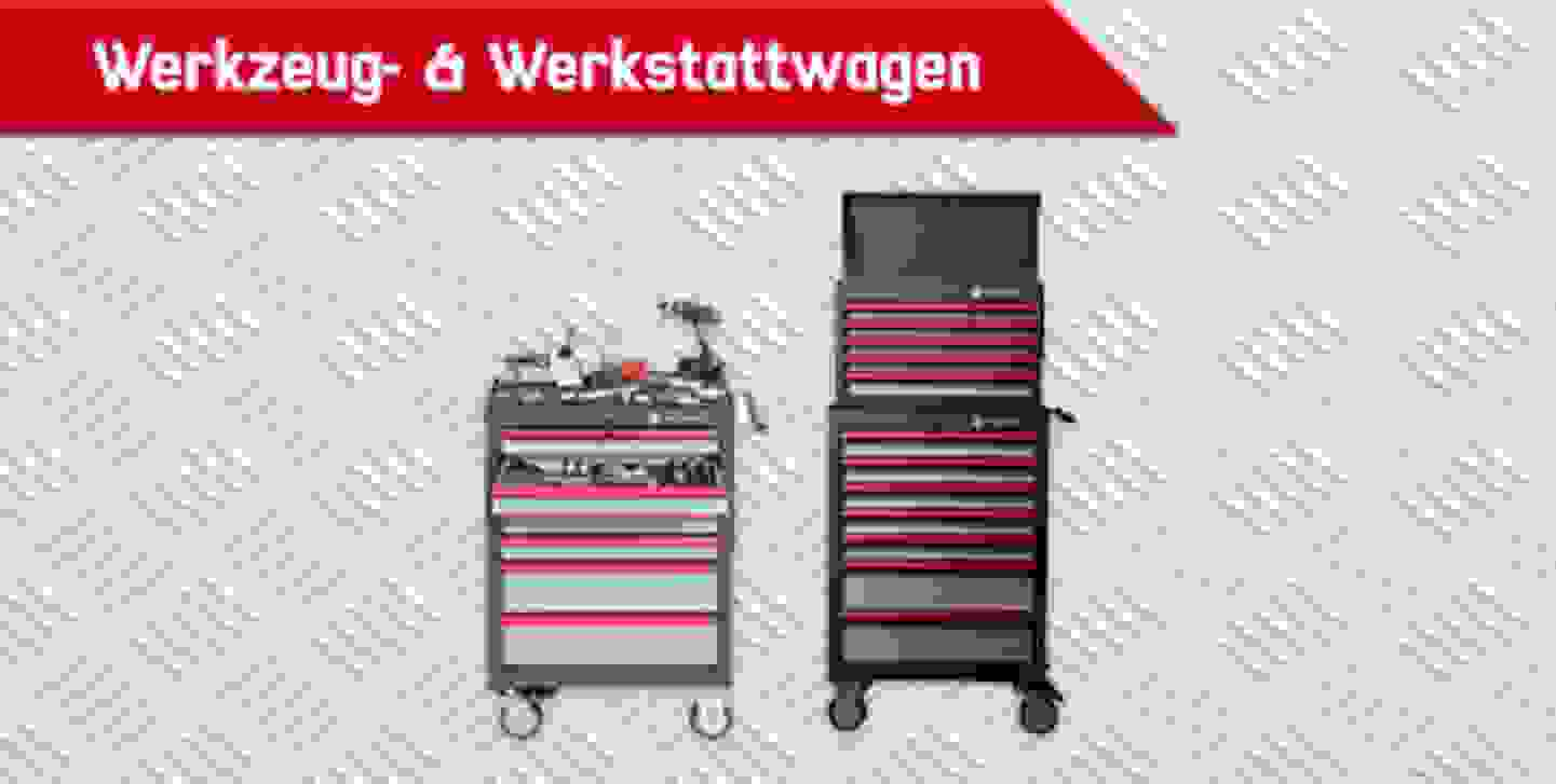 TOOLCRAFT Werkzeug & Werkstattwagen