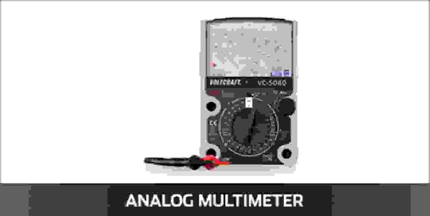 VOLTCRAFT analog Multimeter