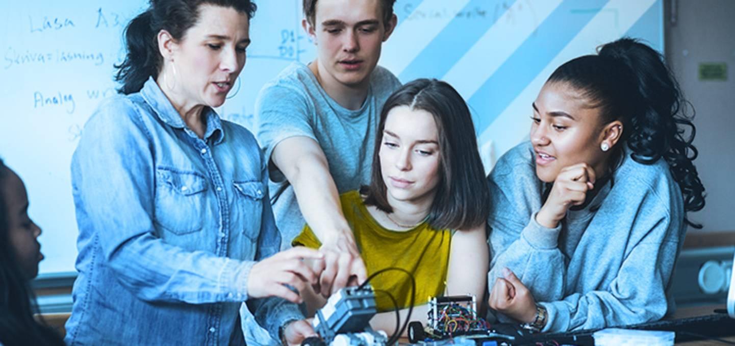 Digitale Schule - MINT-Raum