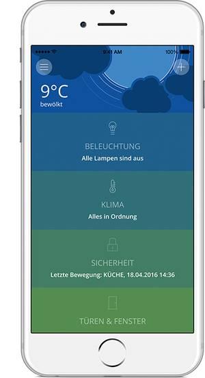 innogy App-Steuerung