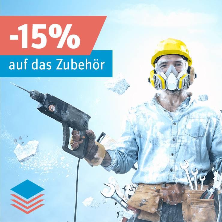 Bohrmaschine auswählen und 15% auf das Zubehör sparen »