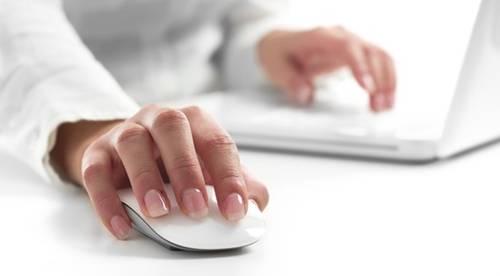Mikroschalter werden z.B. in PC-Mäusen eingesetzt