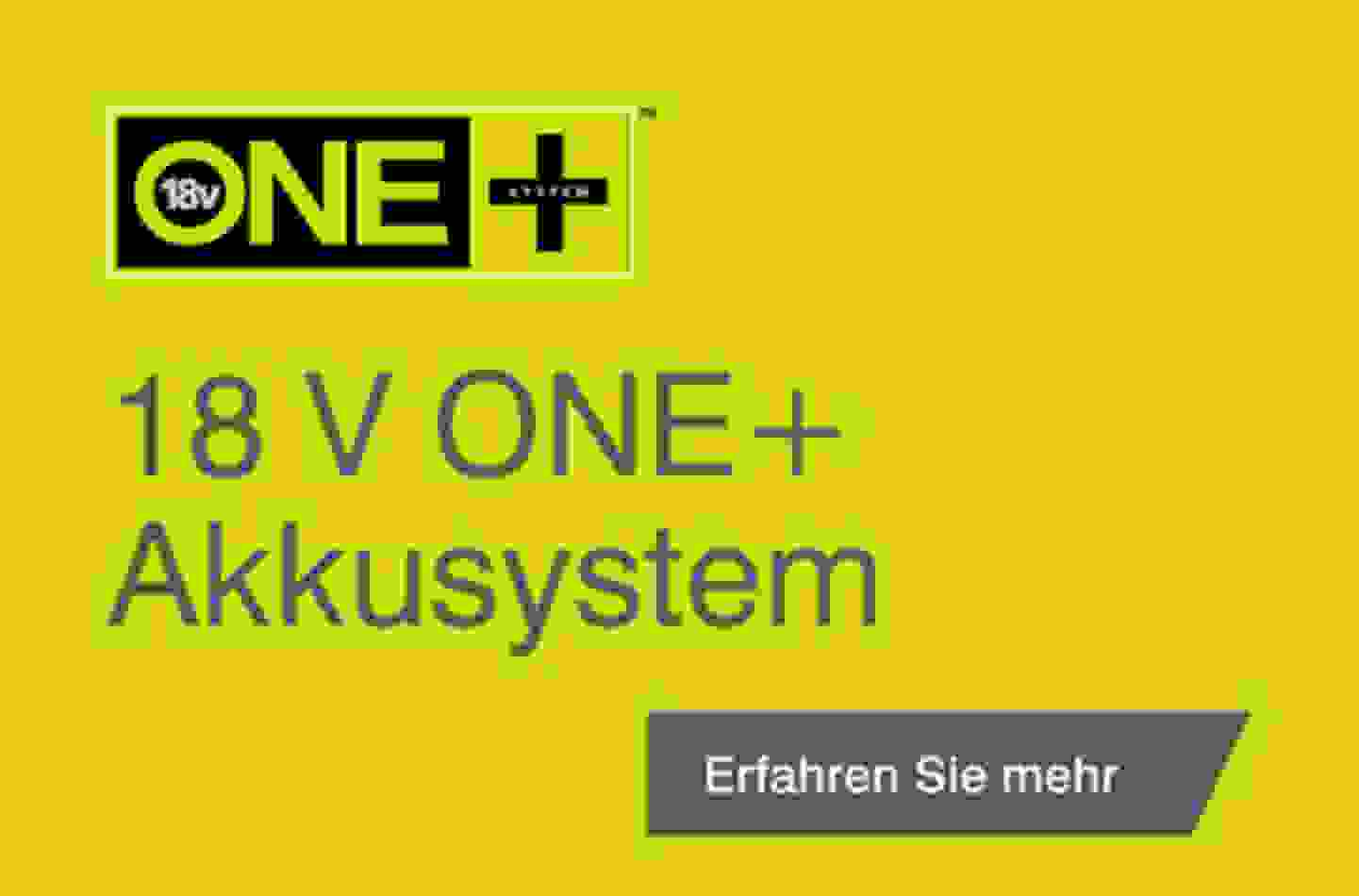 18 V ONE+ Akkusystem
