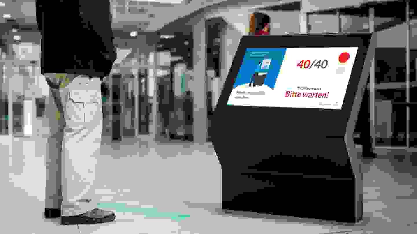 Digital Doorman - Kundenstromkontrolle