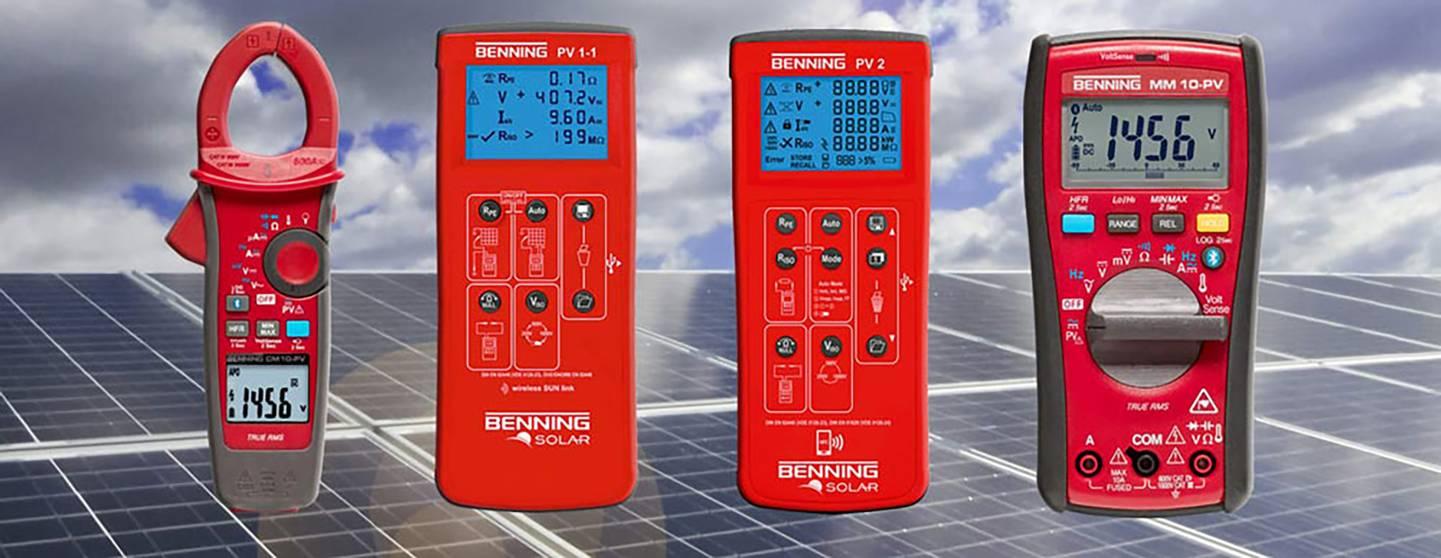 Benning - Photovoltaik-Messgeräte