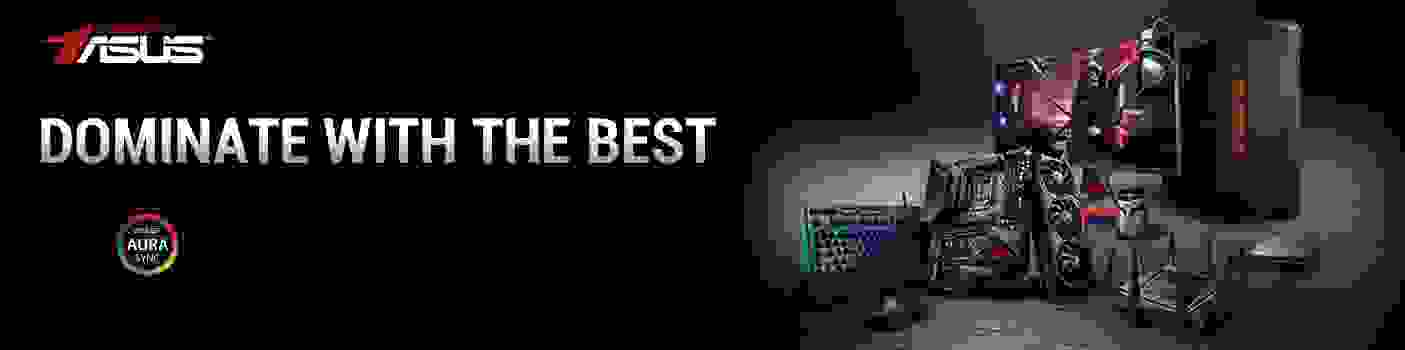 ASUS Dominate with the best